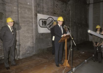 Neville Wran announcing the Powerhouse Museum project, 1979.