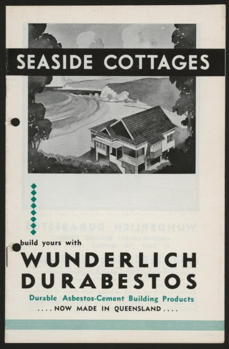 'Seaside Cottages', Wunderlich Limited, 1937. Powerhouse Museum collection.