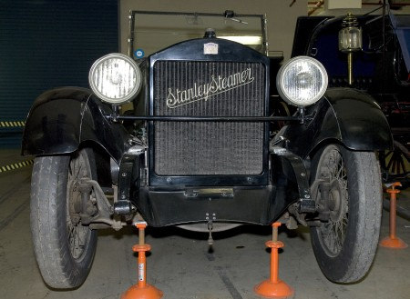 Stanley steam car, model 740B 1922