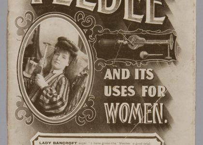 Pamphlet, `The Veedee and its Uses for Women'