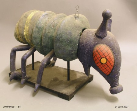 Design model of blowfly