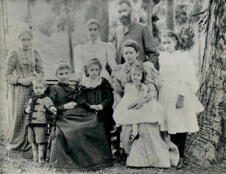 Photograph of Hargrave family
