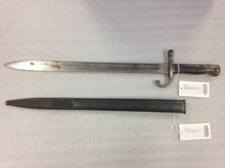 World War One bayonet