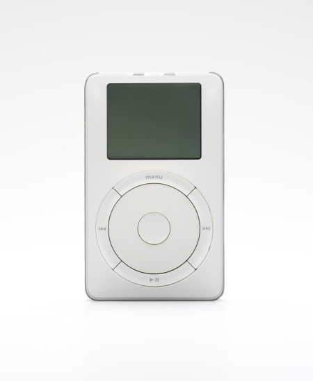 Apple iPod 5Gb 1st generation designed by Sir Jonathan Ive, 2001