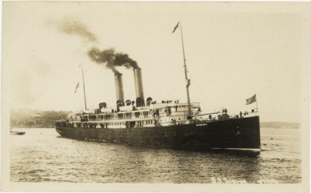 The Oceanic Line steamer RMS Sonoma