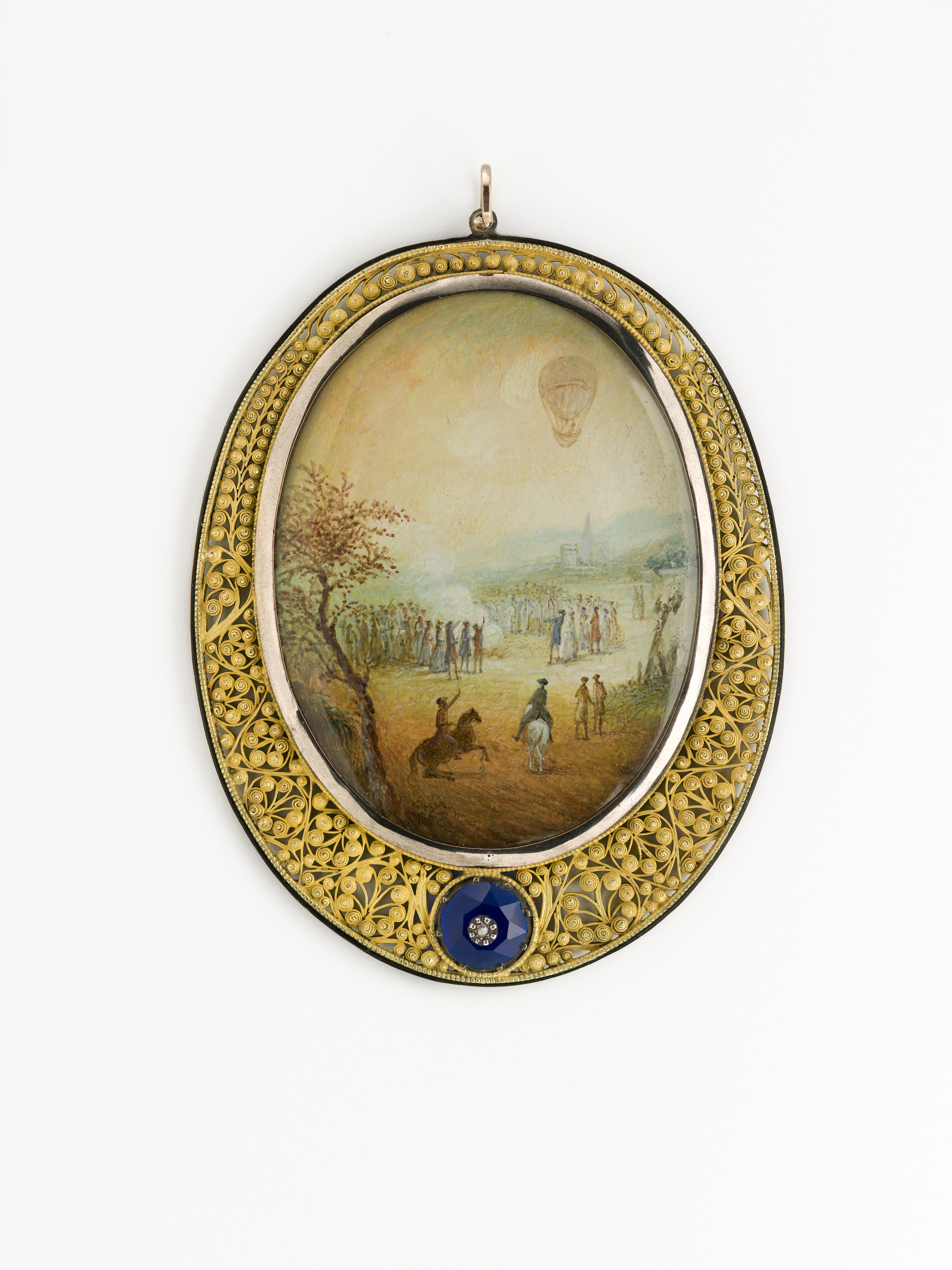 a fine possession and solving the mystery of a french pendant