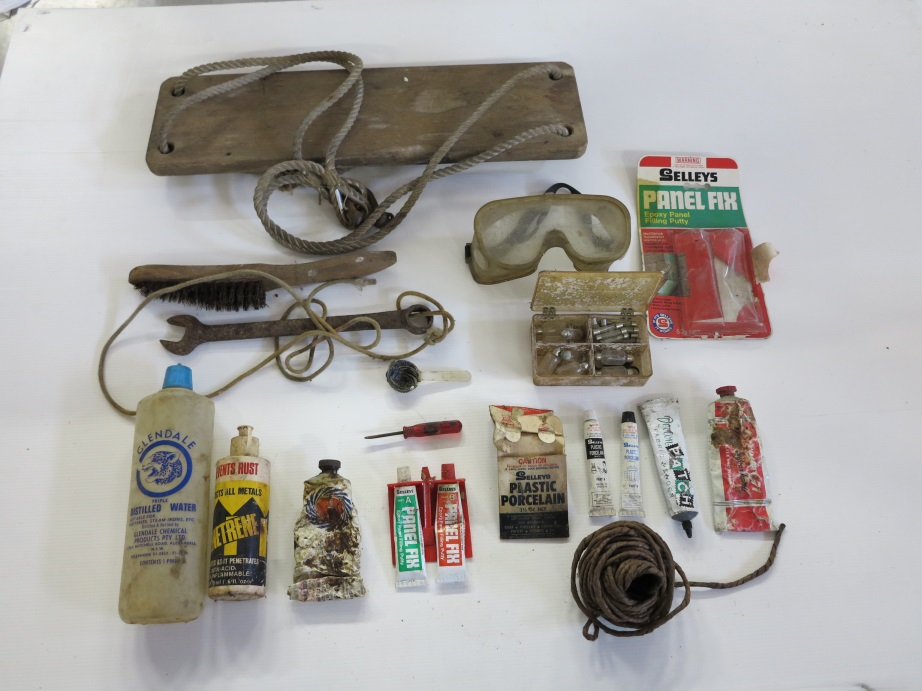 The contents from one of the drawers