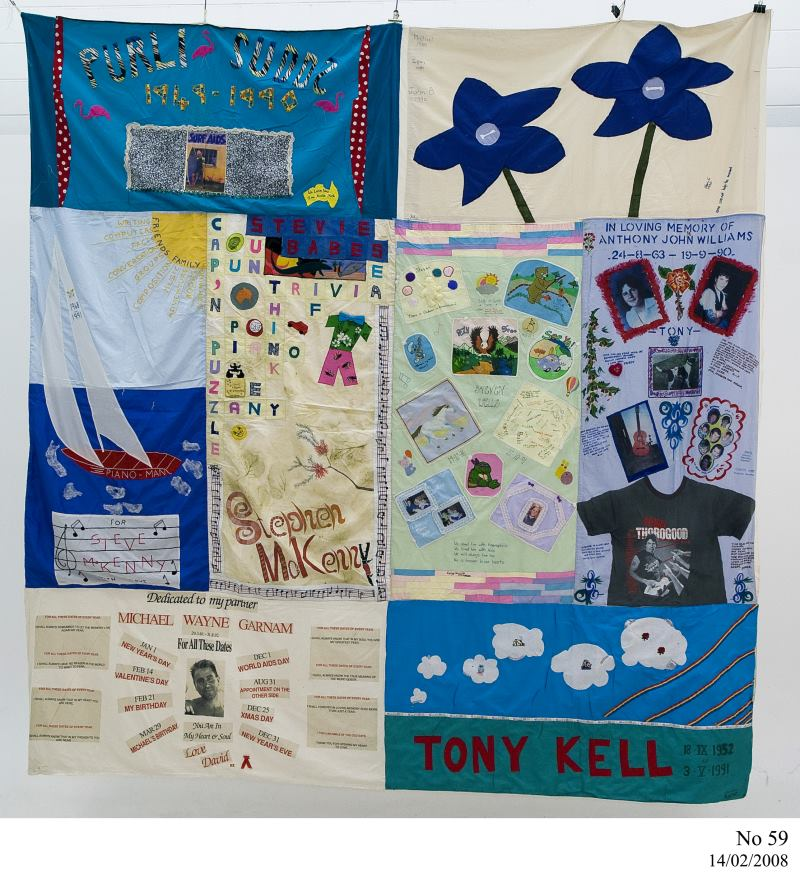 World AIDS Day 2014 – Inside the Collection : world aids day quilt - Adamdwight.com