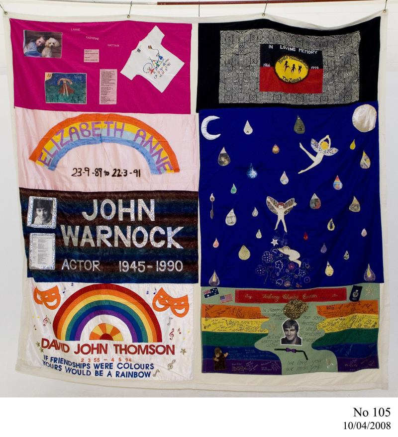 World AIDS Day 2014 – Inside the Collection : memorial quilt makers - Adamdwight.com