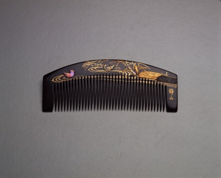 Photograph of Haircomb (kushi)