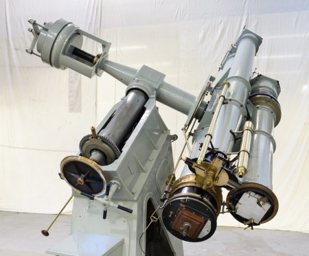 Photograph of Astronomical equipment, 13-inch Melbourne astrographic telescope