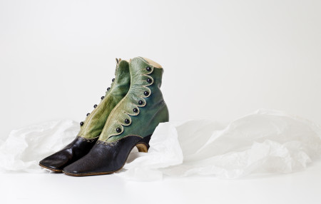 Women's button boots from the Joseph Box collection