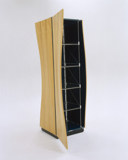Photograph of cabinet, 'Marrawah Ripple - Malibu Swell', both designed and made by John Smith, Hobart, Tasmania, Australia, 2001