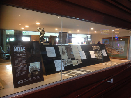 Centenary of Anzac Exhibition at Castle Hill RSL Club 2015