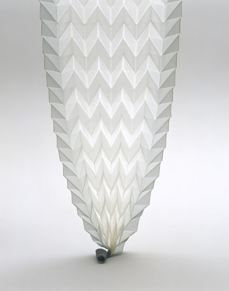 Origami Pleats, designed by Reiko Sudo, produced by NUNO Corporation, Japan, 1997, Gift of the NUNO Corporation, MAAS collection