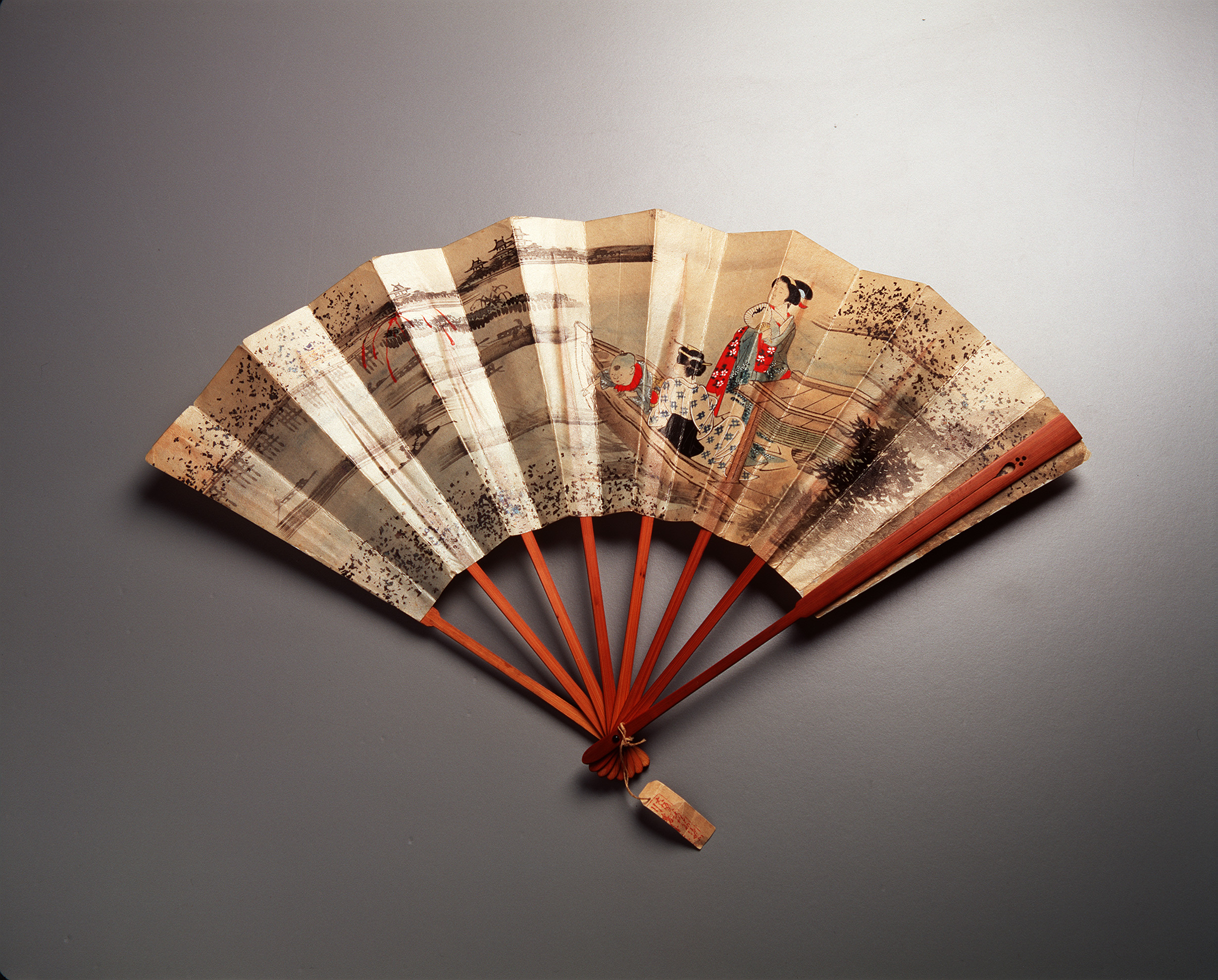 Fan Japan 1880s MAAS Collection 18116 24