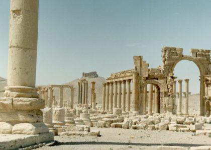 View of Palmyra, 1999, photographer Paul Donnelly