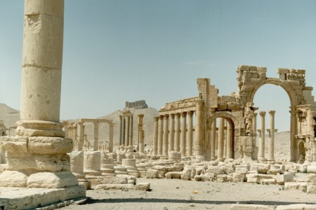 View of Palmyra, 1999, photo by Paul Donnelly