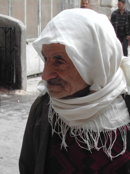 Man, Old City, Damascus, 2003, photo by Paul Donnelly