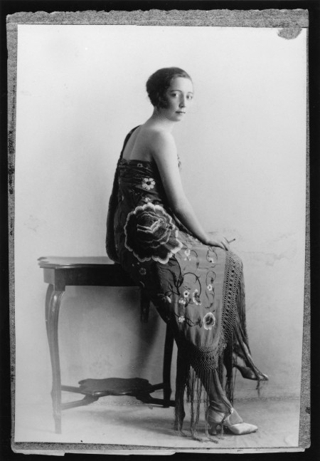 Publicity shot of Florence Broadhurst, unknown photographer, China, 1924-1926, MAAS collection