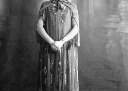 Photograph of Florence Broadhurst, unknown photographer, 1920s, MAAS collection