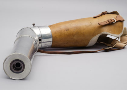 Prosthetic arm, 1920, MAAS collection