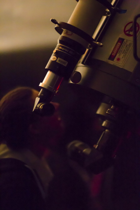 Telescope viewing at Sydney Observatory. Photograph by Jayne Ion.