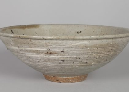 Stoneware bowl made by Peter Rushforth, Sydney, NSW, c.1964