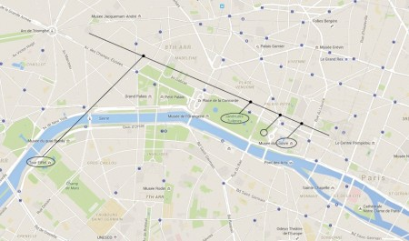 Fil and Kat's map of Paris!