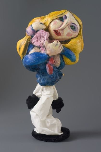 'Artists' Wives' puppet