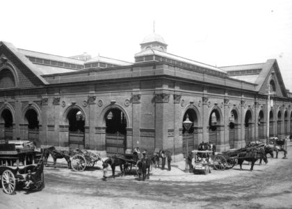 Photograph of New Belmore Markets