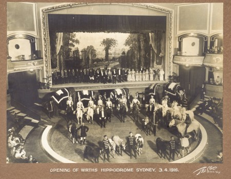Photograph of Wirth's Circus