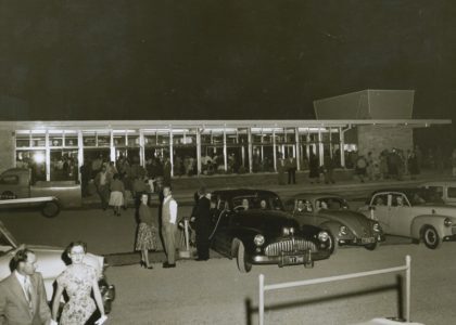 Metro-Twin drive-in in the Sydney suburb of Chullora in 1956