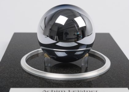 Photograph of Perfect silicon sphere