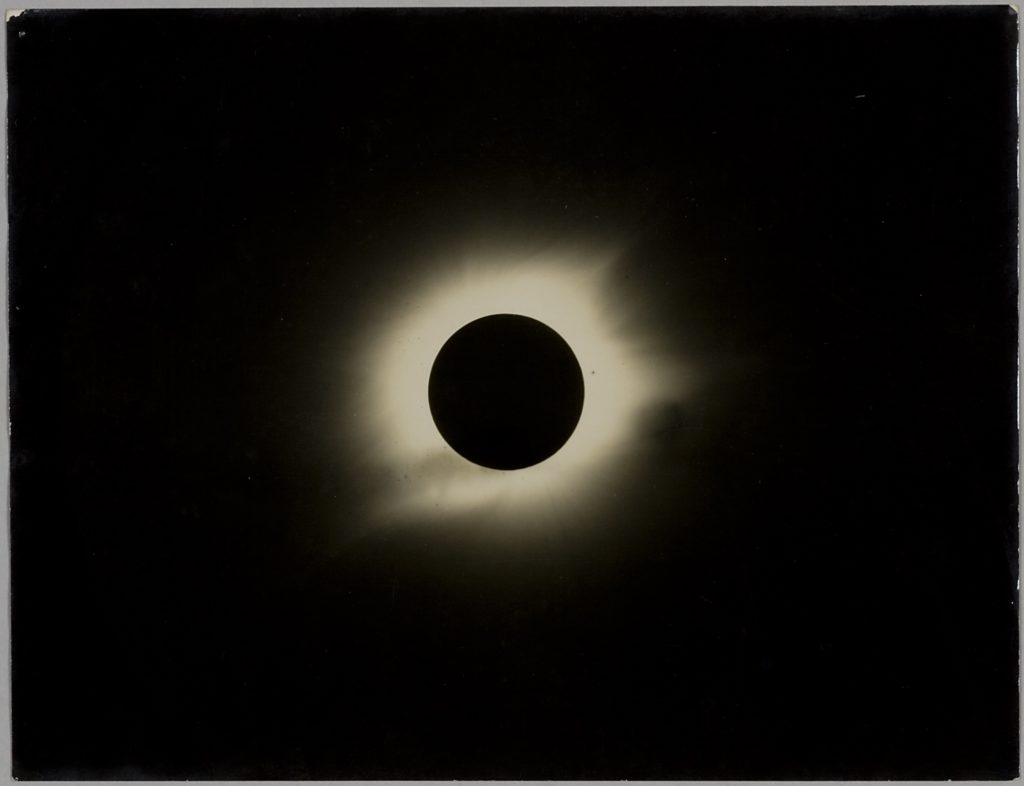 Photograph of total Solar Eclipse