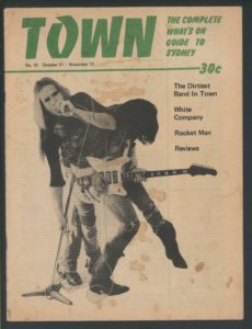 Magazine Cover, 'Town: The Complete What's On Guide to Sydney', No. 10