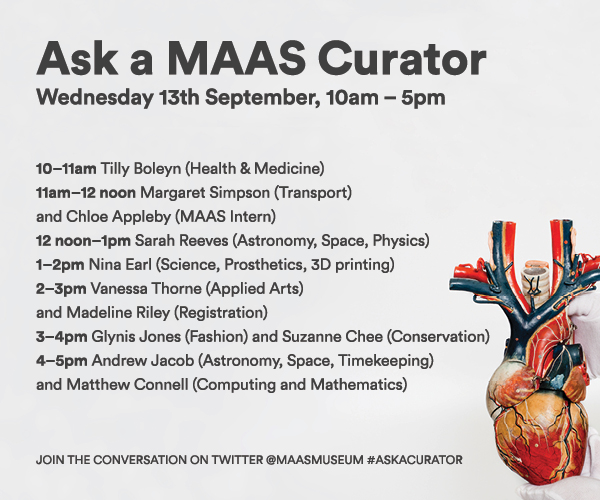 Ask a MAAS Curator Poster