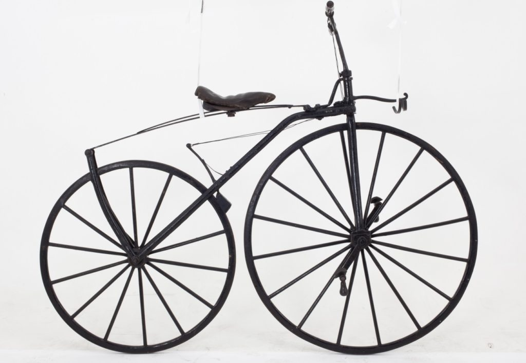 Velocipede or boneshaker, Michaux-type