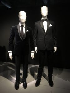 Tim Campbell and signer Anthony Callea's wedding suits in 'Love is' exhibitions.