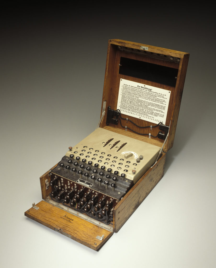Photograph of the Enigma