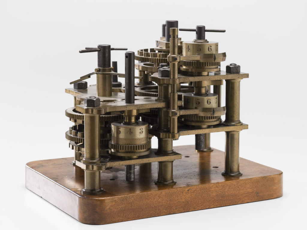 Babbage Difference Engine No 1 calculating engine