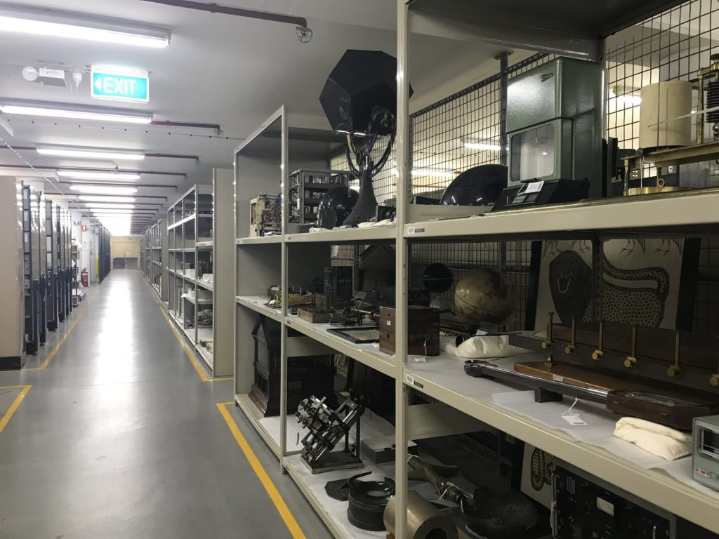 The Collections Store at the Museum's Ultimo site