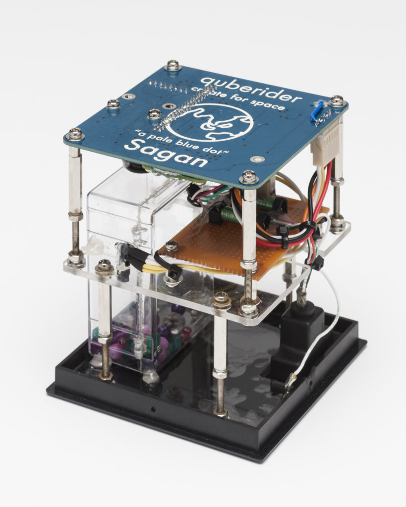 The Cuberider payload,