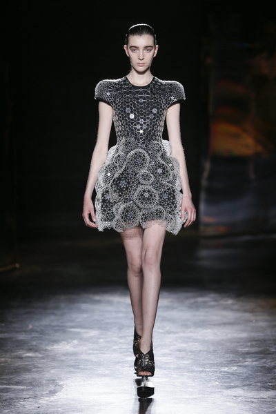 Dress, 'Lucid' designed and made by Iris van Herpen