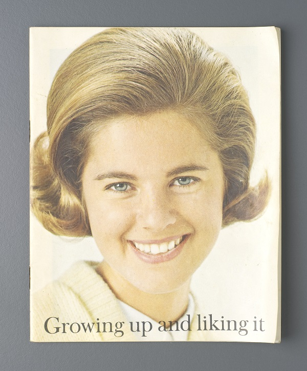 Cover of educational booklet 'Growing Up and Liking It'