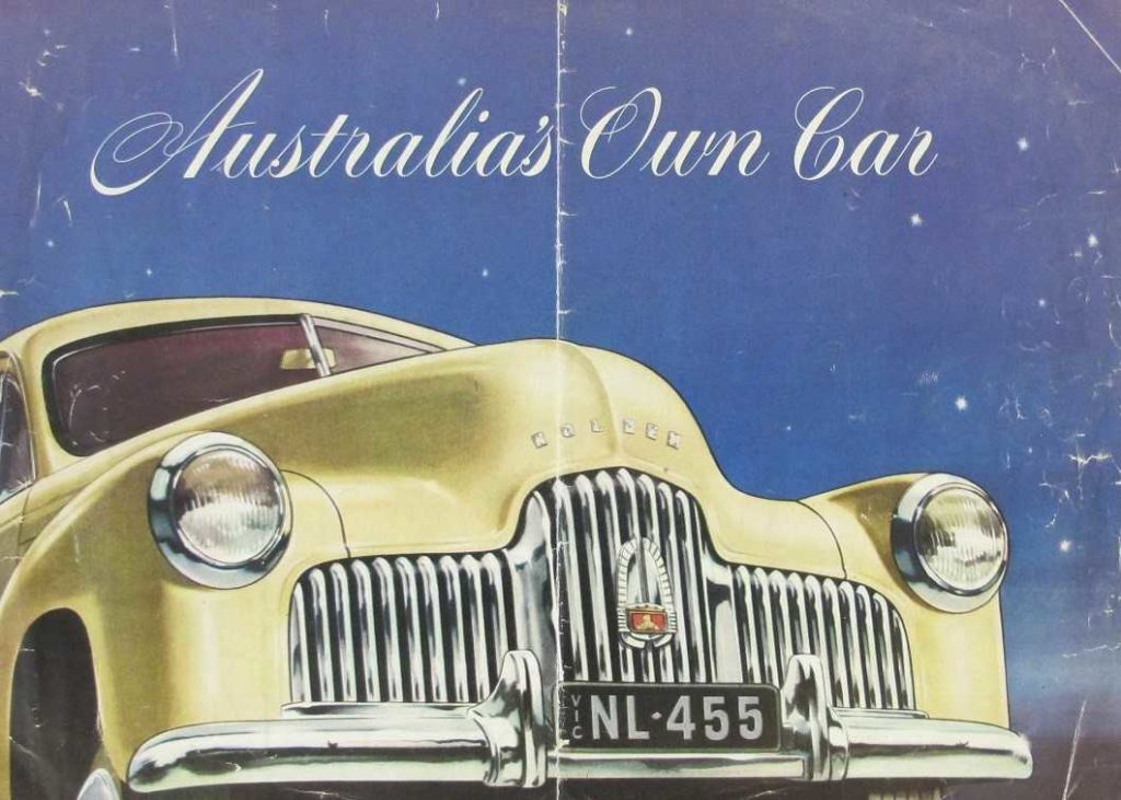 The 1950s Australian Dream – Holdens, Victas and Mixmasters